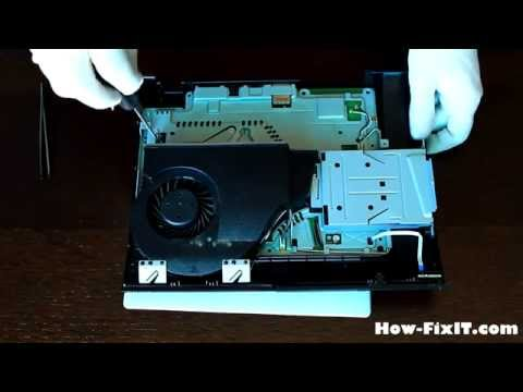 Playstation 3 Super SLIM disassembly