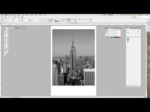 InDesign - Quick-Color That Grayscale Photo