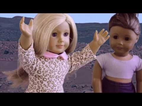 PSYCHEDELIC SUNDAY! -American Girl Doll Stopmotion