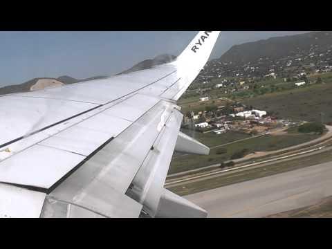 Ryanair FR 2712 Take off Ibiza to Birmingham International Airport FULL HD