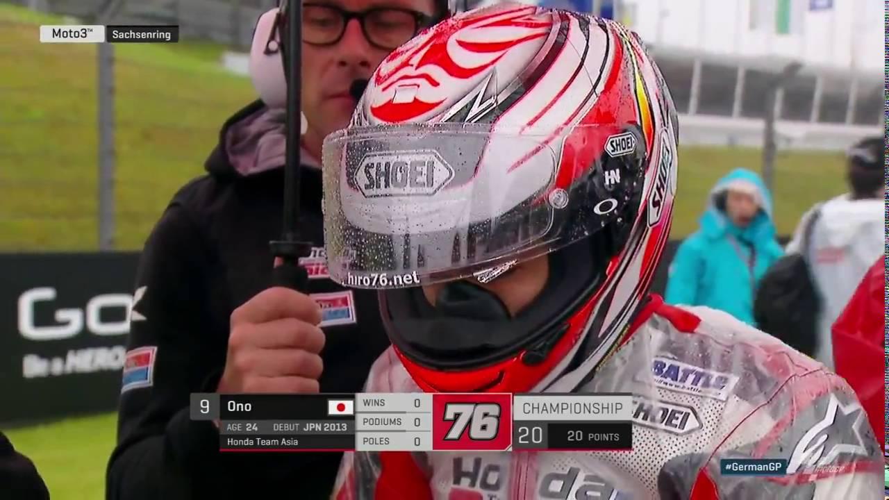 Moto3 2016 Germany Sachsenring Full Race. Khairul Idham Pawi 1st!