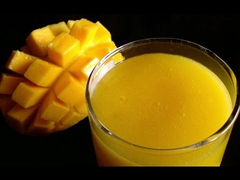 How To Make Pure Mango Juice At Home
