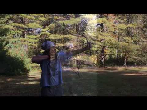 JWB Bows: Shooting a Turkish Composite Horn Bow at Full Draw of 29