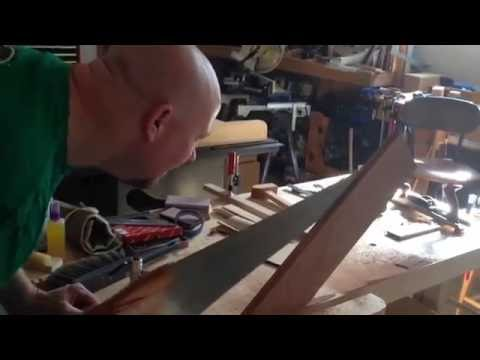 Resawing Mesquite Board