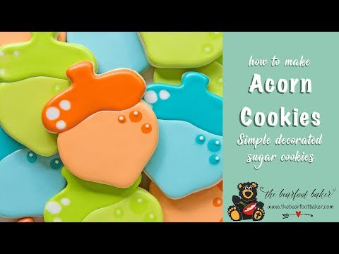 How to Make Cute Little Acorn Cookies