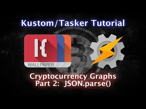 KLWP, KWGT, KLCK, Tasker Tutorial - JSON.parse() and Cryptocurrency - PART TWO