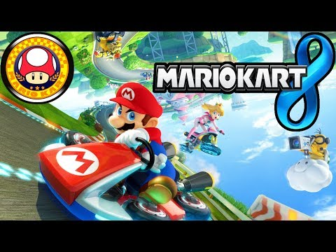 Mario Kart 8: Mushroom Cup 150cc Basics & How to Unlock Characters Gameplay Walkthrough PART 1 Wii U