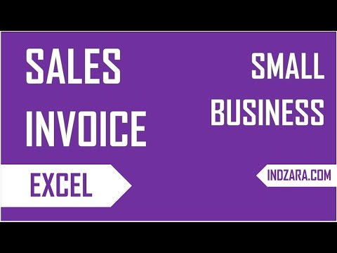 Free Invoice Template - How to Create Sales Invoices using Excel Template?