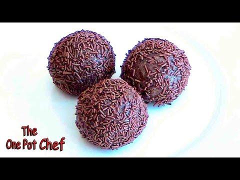 Chocolate Rum Balls | One Pot Chef