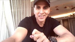 Akshay Kumar EMOTIONAL MESSAGE   Thank You For A Special Birthday