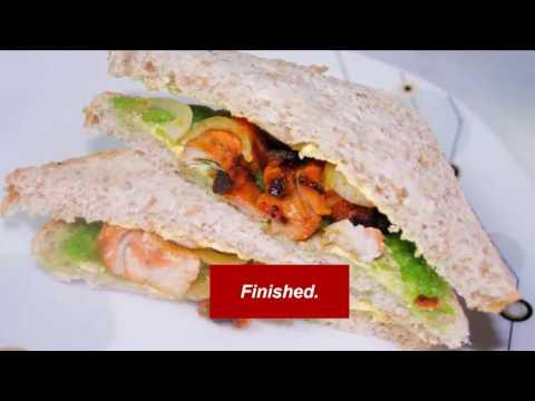 Chicken Tikka Sandwich How to Make a Chicken Tikka Sandwich-Ansari Kitchen