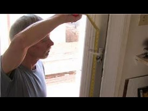 Door Help : How to Install a Deadbolt Lock to a Steel Door