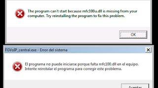 mfc120u.dll windows 10 64 bits