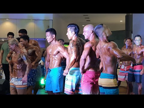 Mr PFG Physique 2018 Novice Category Final Posedown