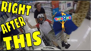 TOYS R US CHASED US, KICKED US OUT, WE WOULDN'T LEAVE