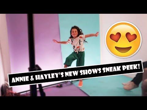 Annie & Hayley's New Shows Sneak Peek 😍  (WK 384.3)   Bratayley