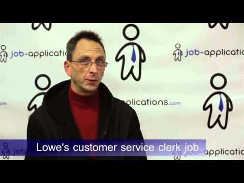 Lowe's Interview - Customer Service Associate