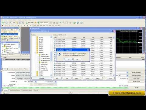 Finding the Best Forex Robot Settings