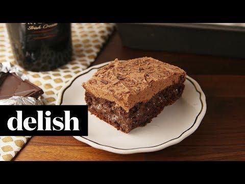 Baileys Poke Cake | Delish