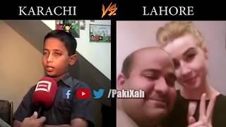 Karachi vs Lahore in memes | PakiXah