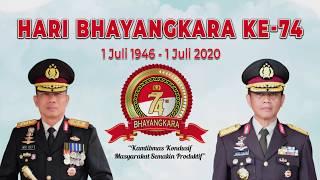 SELAMAT HARI BHAYANGKARA KE 74 KAMTIBMAS KONDUSIF MASYARAKAT SEMAKIN PRODUKTIF