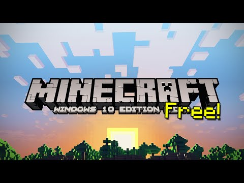 How To Get Minecraft Windows 10 Edition For Free!
