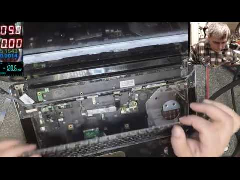 Hp Pavilion dv8 no power, motherboard repair, easy one