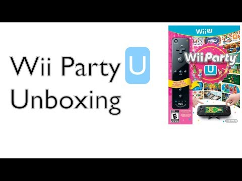 Wii Party U Unboxing