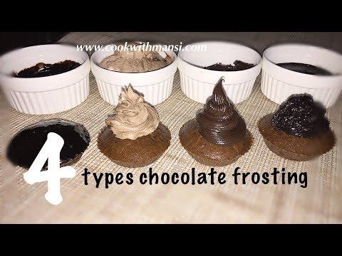 Chocolate frosting recipe - Chocolate ganache recipe - Ganache recipe for frosting a cake