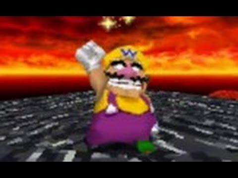 Super Mario 64 DS - 100% Walkthrough Part 10 - Lethal Lava Land
