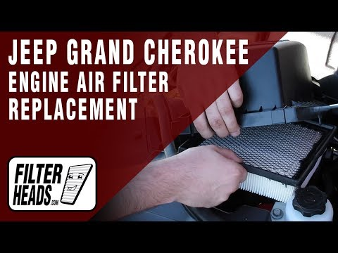 How to Replace Engine Air Filter 2011-2014 Jeep Grand Cherokee V6 3.6L