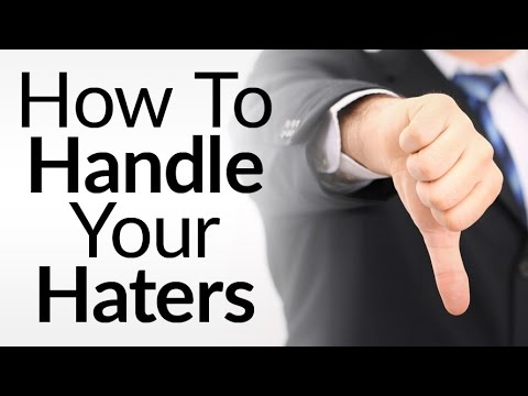 How To Deal With Criticism | 10 Tips To Handle Haters | Defuse Negativity Online aka Trolls