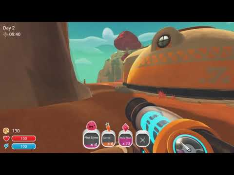 Slime Rancher PS4 Playthrough - 01 - Chaos on the ranch!