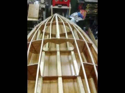 home made hydroplane boat build