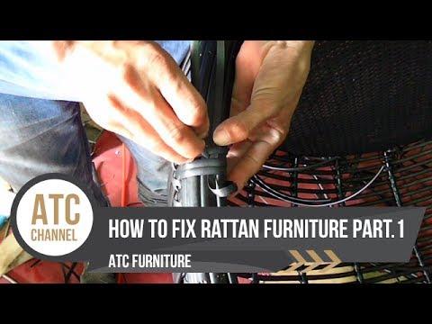 How to Fix Rattan Furniture | Part 1 | ATC Furniture 2017