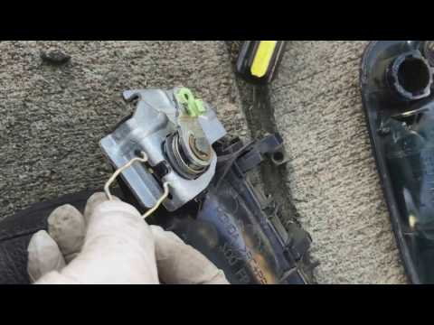 Replacing door handle and cylinder lock on a 1996 - 2000 Honda civic