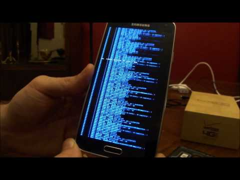 LiveBoot [root] Samsung Galaxy S5 on KitKat 4.4.4 NK2 Firmware