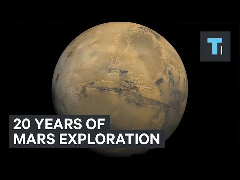 NASA Has Been Exploring Mars Every Day For The Last 20 Years