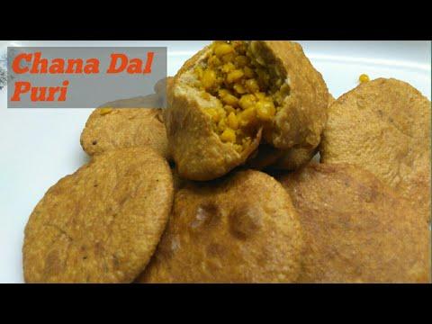 Chana Dal ki tasty Puri Easy Recipe |Dal ki Puri Recipe in hindi-Stuffed Dal ki puri,Chana dal puri.
