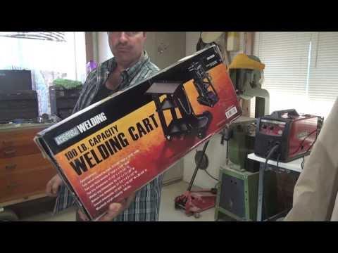 Generic Welding Cart Build up Part 1* Assemble stock Cart * Customize, Modify & Build