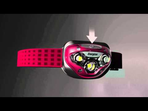 Energizer Headlights / Kopflampen