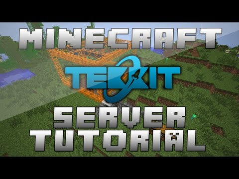 How To Make A Minecraft TEKKIT Multiplayer Server 1.6.2 (Tutorial) + Port Forwarding