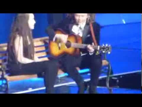 Luke - What makes you beautiful -XFactor Tour Live ( Wembley 8/03/2014)