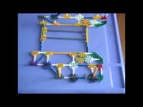how to make a car out of knex