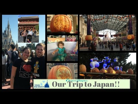 Our Trip to Japan: Tokyo DisneySea, Tokyo Disneyland, Robot Show in Shinjuku & Karaoke
