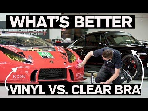 Vinyl Wrap vs. Clear Bra: What's Better?