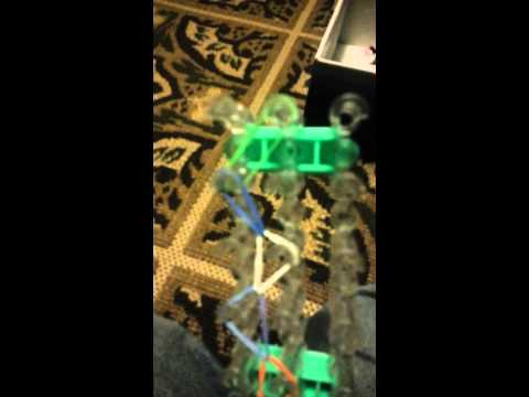 How to make a rainbow loom necklace 2013