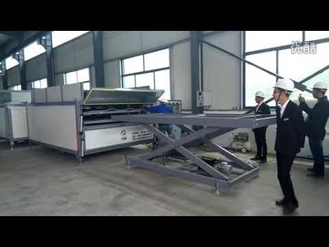 operation of glass laminating machine