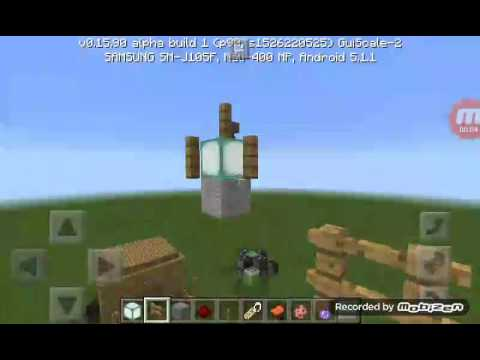 How to make a lantern in mcpe
