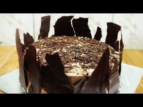 Chocolate Cake Recipe   With Ganache and Mousse - Cooker Cake   Eggless Baking Without Oven